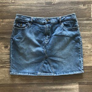 TINT Jeans Women's Denim Jean Skirt Size 16